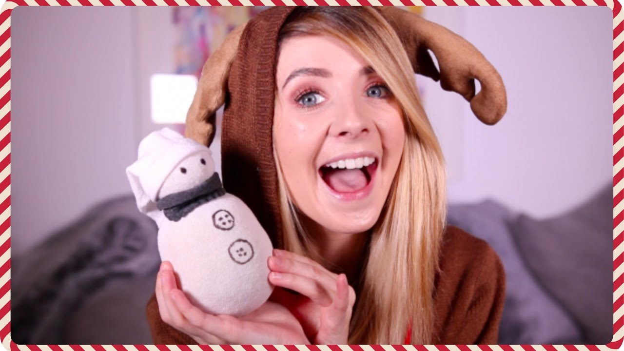 Christmas Pinterest DIYs | Zoella - YouTube