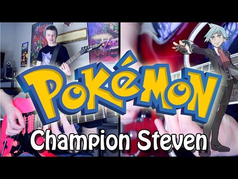 Champion Steven/Wallace Battle - Pokémon RSE/ORAS (Rock/Metal) Guitar Cover