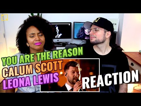 Calum Scott X Leona Lewis - You Are The Reason | Live - The One Show | REACTION