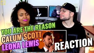 Calum Scott x Leona Lewis - You Are The Reason | Live - The One Show | REACTION Mp3