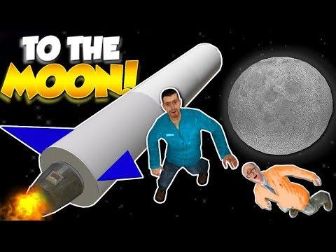 GOING TO SPACE! - Garry's Mod Gameplay - Gmod Sandbox Building A Rocket!