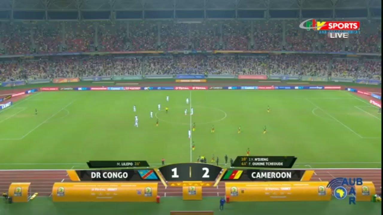 CRTV - 2020 CHAN - QUATERFINAL GOALS - (DR CONGO 1 # 2 CAMEROON) - Saturday 30th January 2021