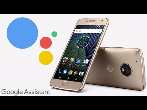 how to start google assistant in moto g5 plus