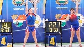 Yegor Demyshev (16 y.o.) - the raising star of kettlebell sport (2017)