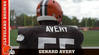 genard avery is a dawg he has a bright future cleveland browns