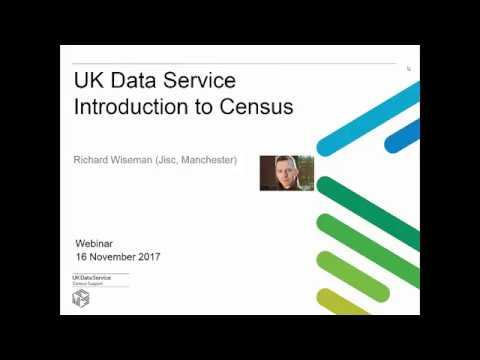 Webinar: Key data: Census