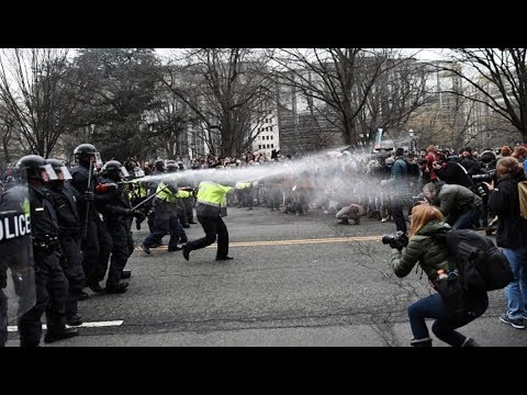 ACLU Attorneys Name Cops Accused of Violating Civil Rights on Inauguration Day
