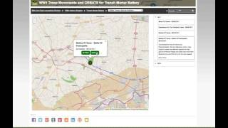 Forces War Records - WW1 Troop Movements