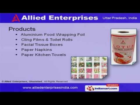 Aluminium Food Wrapping Foil by Allied Enterprises, Ghaziabad, Ghaziabad