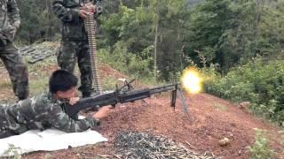 สาธิตการยิงปื�...