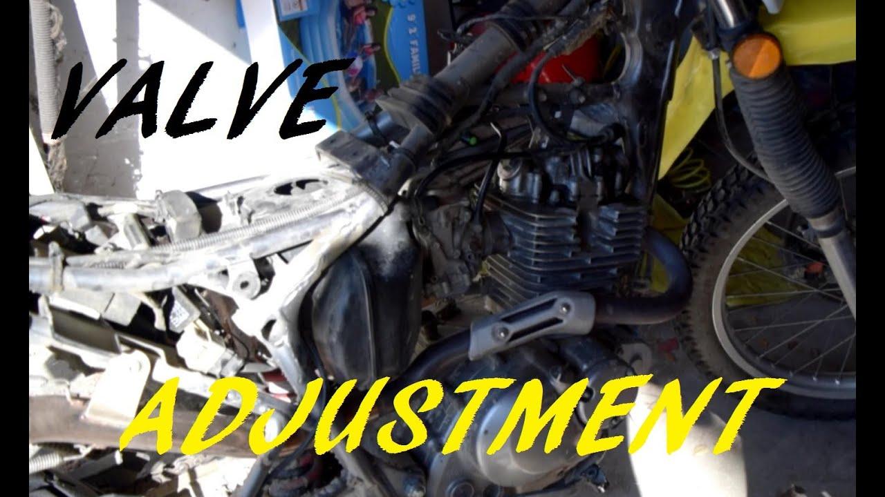 Suzuki Dr Valve Clearance