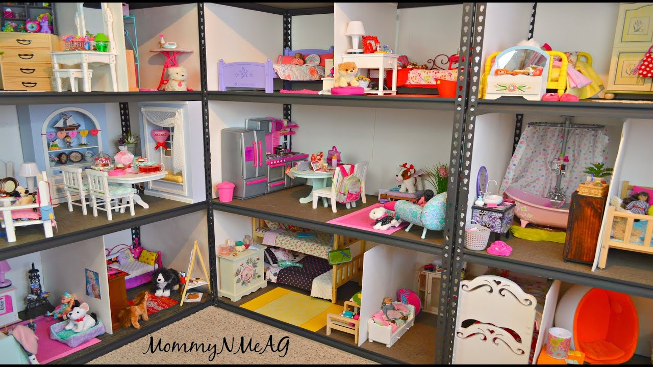 Shelves For Dining Room Huge American Girl Doll House New 2016 Doll House