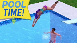 Video POOL TIME & THAT MOM - Sims 3 Ever After Ep. 38 download MP3, 3GP, MP4, WEBM, AVI, FLV Desember 2017