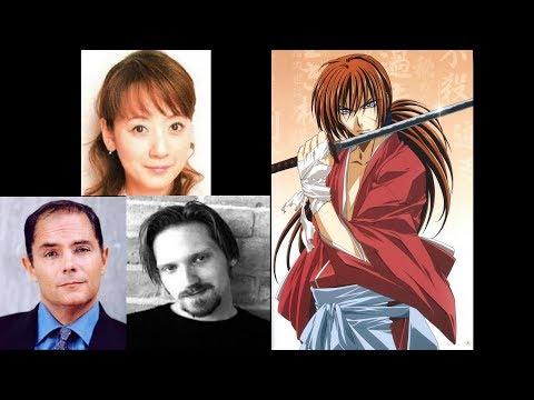 Anime Voice Comparison- Kenshin Himura (Rurouni Kenshin)