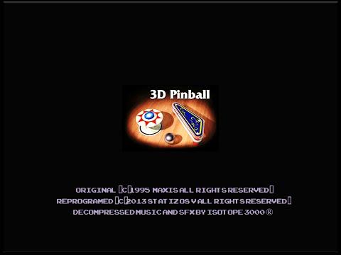 3D Pinball Space Cadet DEMO sega genesis
