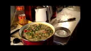 Просто жратва Тайский суп Том Ям Thai Tom Yum soup