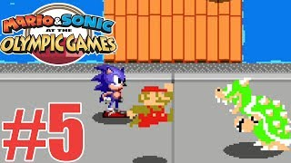 Mario and Sonic at the Olympic Games Tokyo 2020 Story Mode Gameplay Walkthrough Part 5