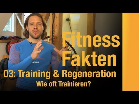 training und regeneration wie oft trainieren fitundgud fitnessfakten youtube. Black Bedroom Furniture Sets. Home Design Ideas