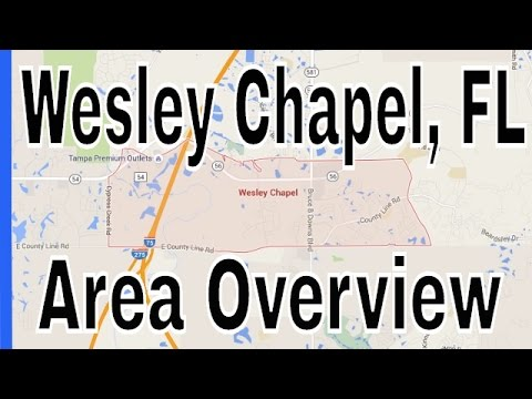 Homes for Sale in Wesley Chapel FL - Wesley Chapel Overview by Lance Mohr - Tampa Realtor