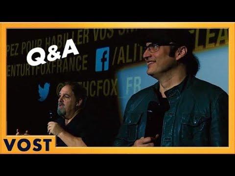 Alita : Battle Angel | Q&A Robert Rodriguez et Jon Landau | VOST HD | 2019