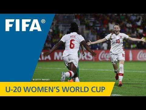 MATCH 12: NIGERIA v CANADA  FIFA Women's U20 Papua New Guinea 2016