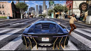 ► GTA 6 Graphics - Centenario LP 770-4 ✪ M.V.G.A. - Gameplay! 2017 Realistic Graphics MOD 60FPS