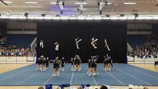 Cheerleading DM 2019 - GF Uppsalaflickorna USC Excaliburs