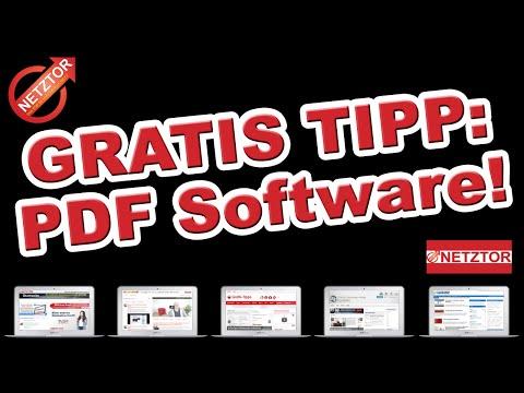 PDF Software Deutsch: Vorstellung von PDF Architect 3 ... PDF zusammenführen | gratistipps