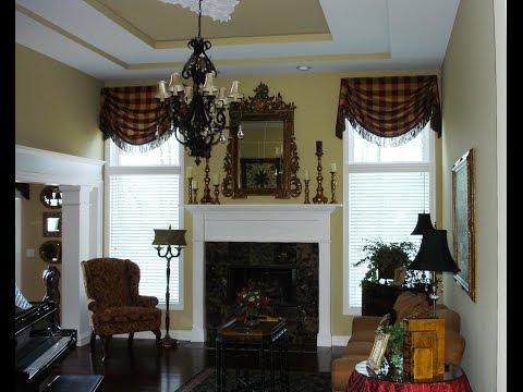 Valances For Living Room Windows