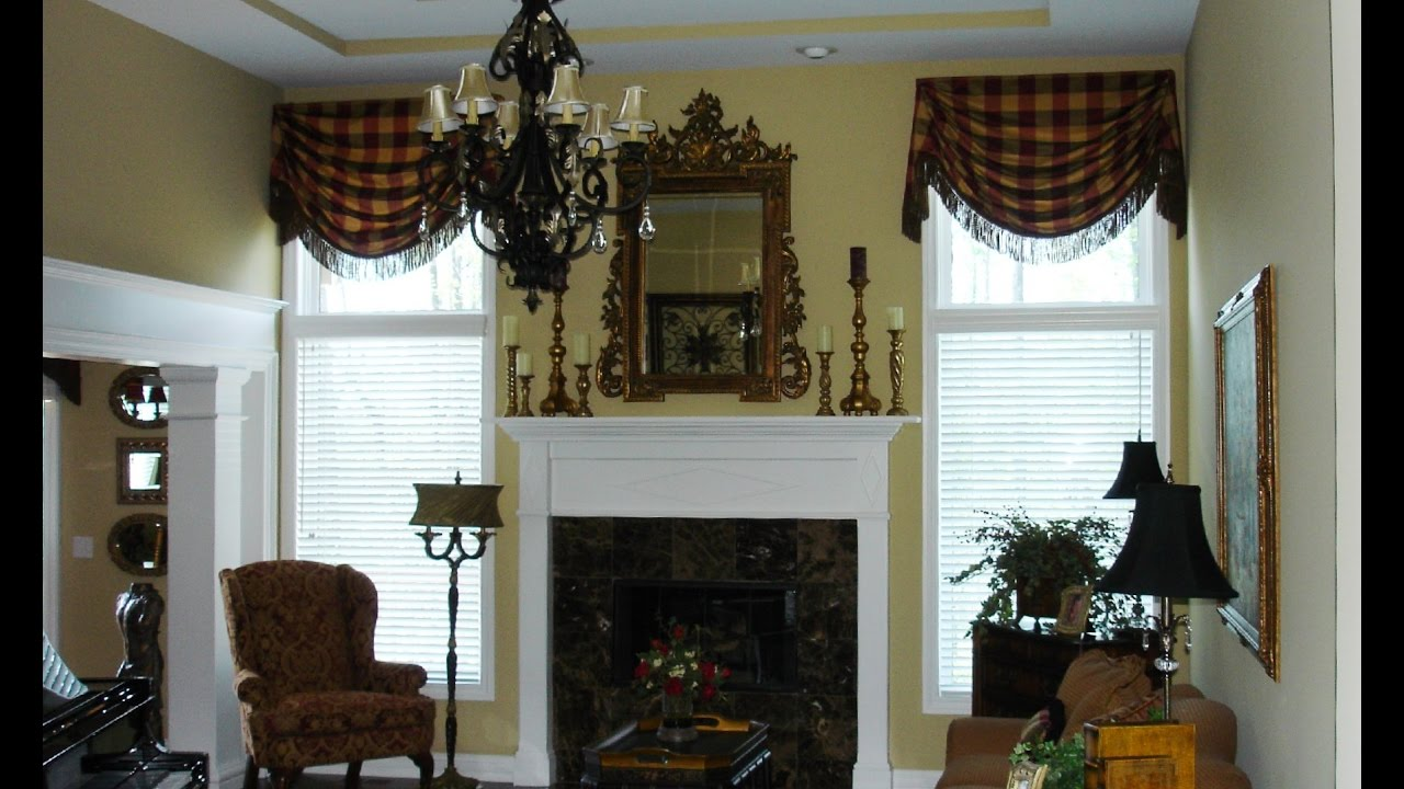 Valances For Living Room Windows