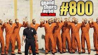 GTA 5 Online #800 Polizeispiel Deutsch Let´s Play GTA V Online PS4