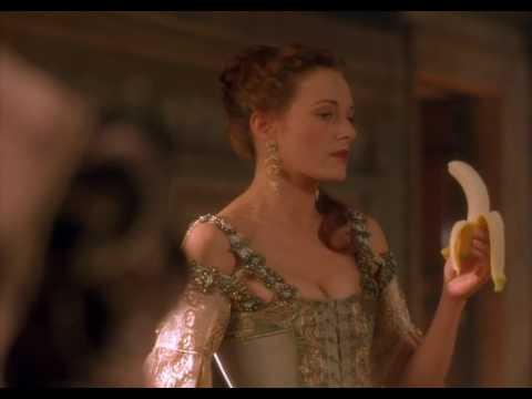 честная куртизанка с бананом