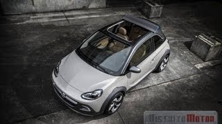 Vauxhall Adam Rocks Concept 2013 Videos