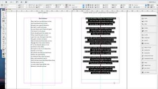 Typesetting a Poetry Book