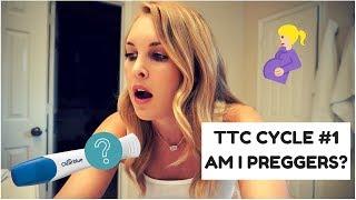 TTC CYCLE 1...I'm 1 week late   Live PREGNANCY test