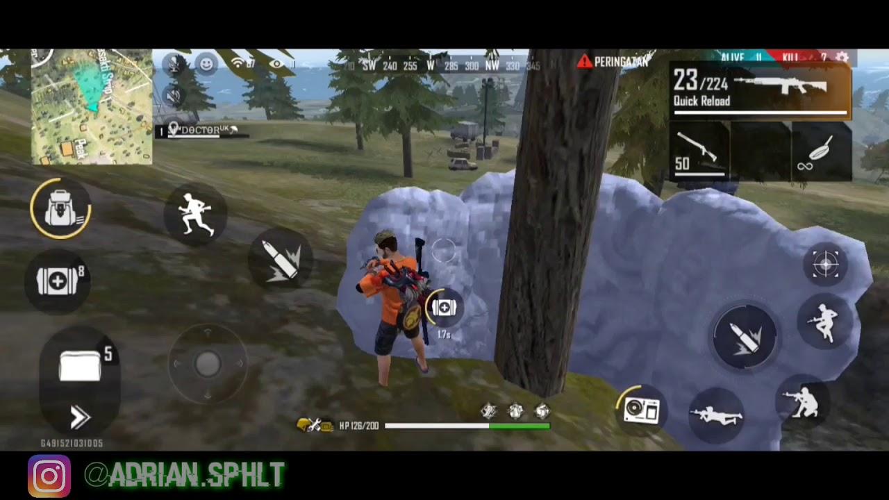 Solo vs Duo!?! Inilah yang terjadi apabila buronan free fire masuk ke dalam game #autokillbanyak