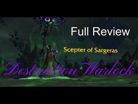 Legion Beta - Destruction Warlock - Full PvE Review
