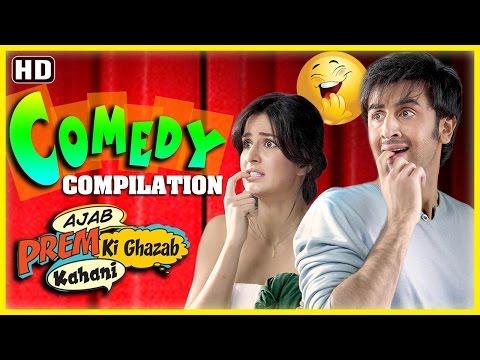 Ajab Prem Ki Gajab Kahani Comdey Scenes  Ranbir Kapoor  Katrina Kaif  Superhit Compilation