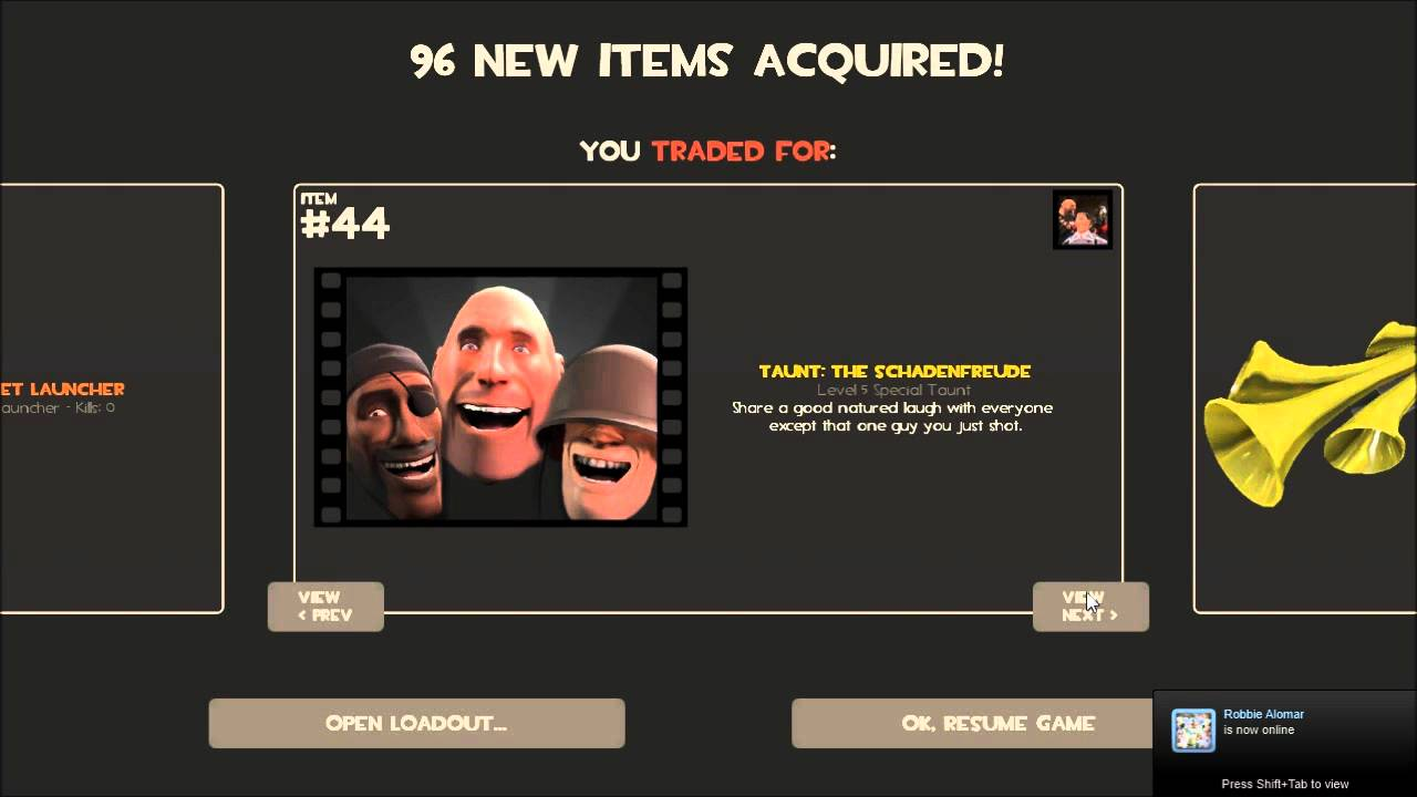 Make a tf2 weapons trading bot