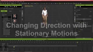iClone 6.5 Tutorial - Walking & Changing Direction
