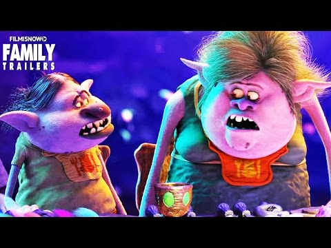 "TROLLS ""Can't Stop The Feeling!"" New Clip I Animated Family Movie"
