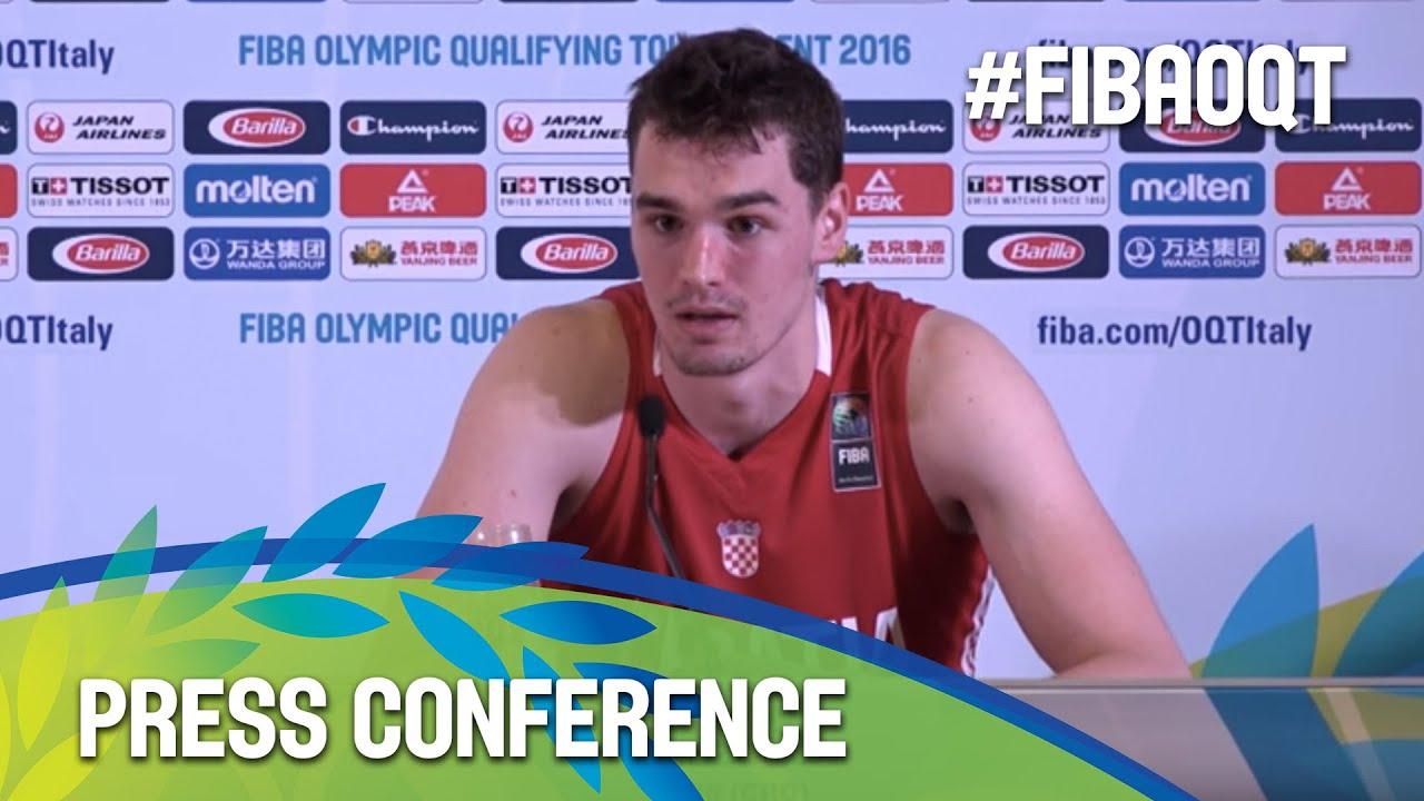 Greece v Croatia - Press Conference - 2016 FIBA Olympic Qualifying Tournament
