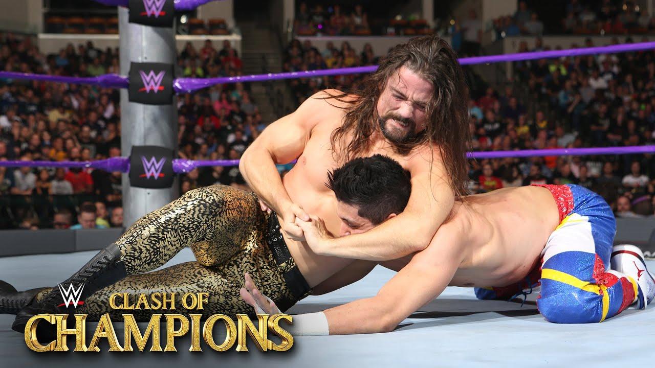 T.J. Perkins vs. Brian Kendrick – WWE Cruiserweight Title Match Clash of Champions on WWE Network
