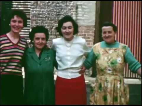 The Bogside in 1959  -  Derry,  Ireland