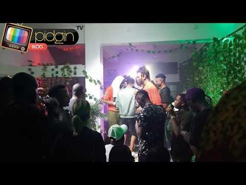 PIDGIN EVENTS: Burna Boy Outside Album Listening Party
