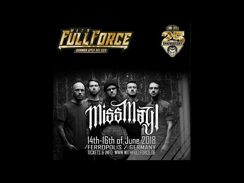 Miss May I live at With Full Force Festival 2018 in Gräfenhainichen, Germany