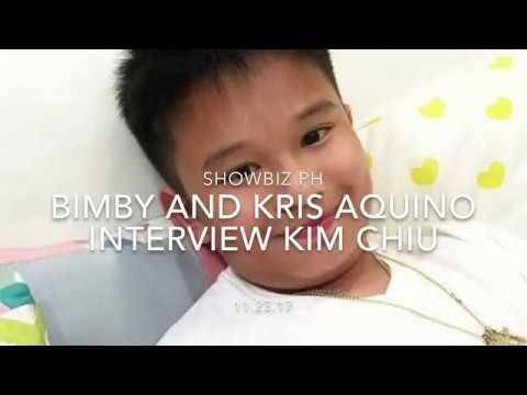BIMBY AND KRIS AQUINO INTERVIEW KIM CHIU | NAKAKALOKA!