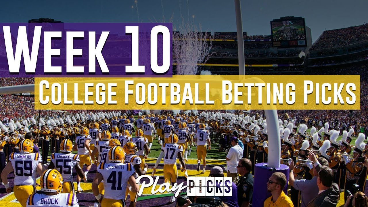 Free college football betting picks week 72 hole group betting lines