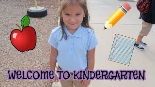 FIRST DAY OF KINDERGARTEN (VERY EMOTIONAL)