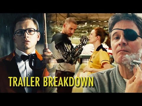KINGSMAN: THE GOLDEN CIRCLE -  Trailer Breakdown (2017) Colin Firth, Taron Egerton, Matthew Vaughn